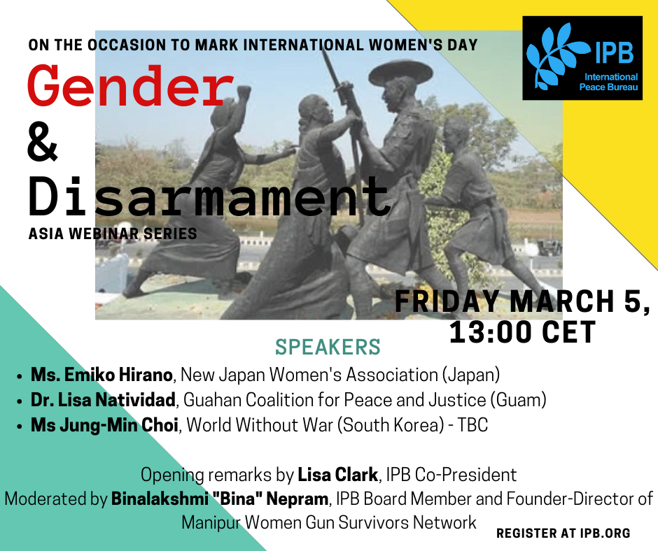 Gender and Disarmament in the Asia-Pacific Region